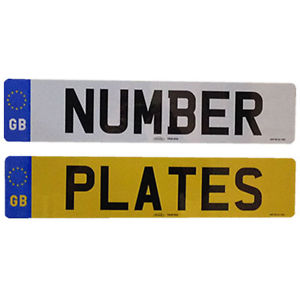 DVLA Personalised Number Plates