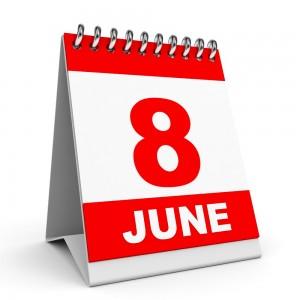 8th June Calendar