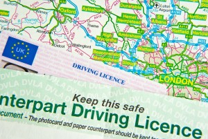 Driving Licence & Map
