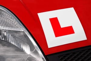 Red L Plate
