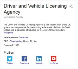 DVLA Contact Information